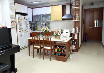 The Manor Binh Thanh low floor fully furnished with beautiful view