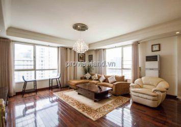 The Manor Binh Thanh apartment for sale 3 bedrooms with many beautiful furniture