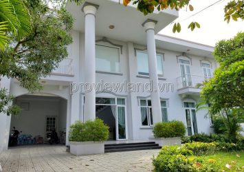 Villa Greenfiel Binh An for rent, District 2, area 500m2, 2 floors, swimming pool + garden