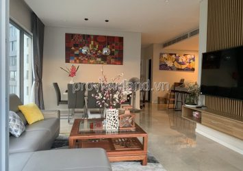 Apartment for rent in Thao Dien Pearl block B, 3 bedrooms, area 136m2, fully furnished