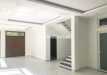 Lucasta Khang Dien Villa for rent with 1 ground floor 2 floors with area 270m2