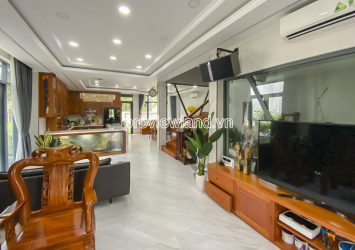 Semi-detached villa for sale 3 floors with land area 230m2 in Lucasta Khang Dien District 9