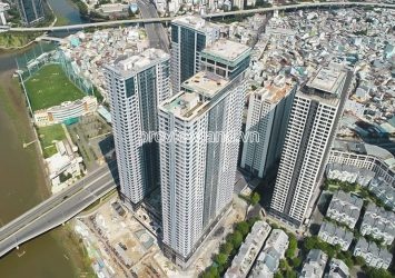 Sunwah Pearl Binh Thanh apartment for sale in Silver block with 3 bedrooms high floor