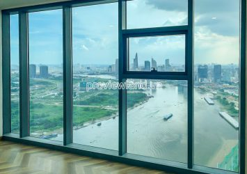 High floor apartment for rent at Sunwah Pearl block Silver 3 bedrooms with river view