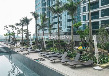Apartment for rent at Sunwah Pearl high floor block Silver House 2 bedrooms