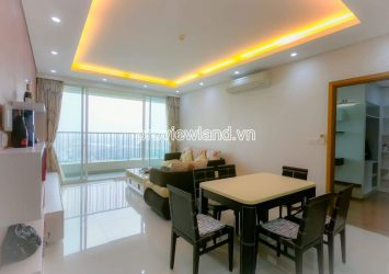 Thao Dien Pearl apartment for rent, block B, high floor, 3 bedrooms, 132m2 area, fully furnished