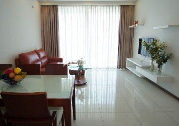 Selling Thao Dien Pearl apartment with 2 bedrooms, low floor, view Saigon bridge
