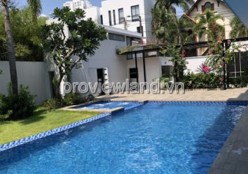 Update some Thao Dien villas for sale in month
