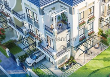 Verosa Khang Dien villa for sale, 296m2 of land, 2 floors, 4% discount, gift genuine driver