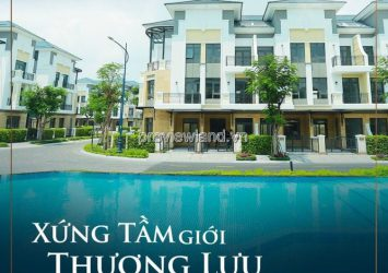 Verosa Park villa for sale 2 frontage with area of 208sqm, gifting 1.5Bil vnd genuine car, discount 4%