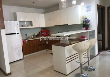 Apartment for rent in Thao Dien Pearl 136m2, beautiful view, 3 bedrooms, fully furnished