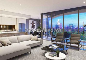 The River Thu Thiem apartment  for sale, paid 10%, area 133m2, 3 bedrooms, river view
