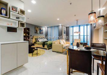 Apartment for rent in Vinhomes Tan Cang Landmark 81 66m2 1 bedroom river view