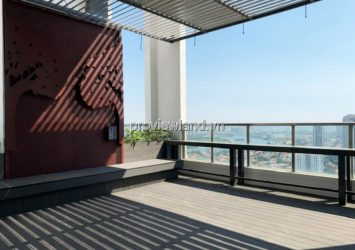 Penthouse Thao Dien Pearl apartment for sale, river view, area 467m2 including garden, 4 bedrooms