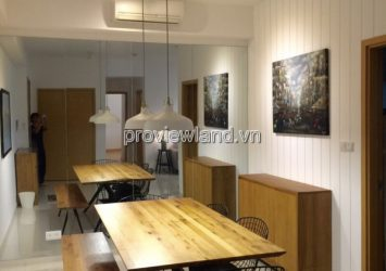The Vista apartment for rent in T3 tower has 2 bedrooms, full furnished
