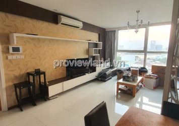 Thao Dien Pearl apartment for rent, 3 bedrooms, 132m2, fully furnished