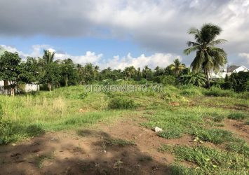 Selling land in District 9, area of 2142m2, convenient construction of villas, garden villas