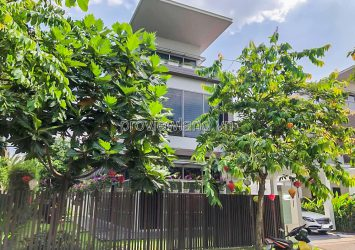 Riviera Cove D9 Villa for sale architecture 3 floor 5 bedrooms with garden area 20x26m