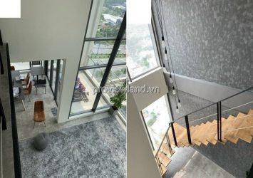 Gateway Thao Dien duplex apartment 4 bedrooms large area for rent