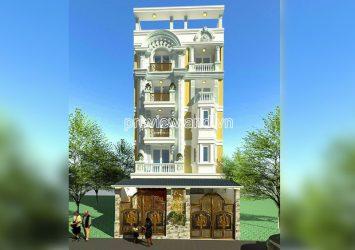 For sale new building Tran Quang Khai District 1 includes basement 6 floors total area 800m2