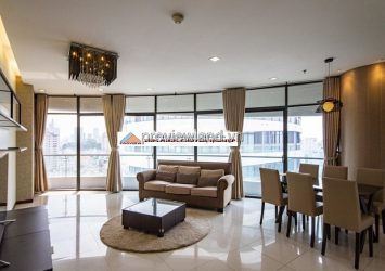 City Garden apartment with 3 bedrooms and full furnished for rent