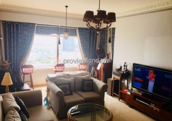 Saigon Pearl rented a 3 bedroom apartment with full classic furniture