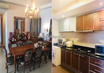 Saigon Pearl apartment 3 bedrooms fully furnished in royal style