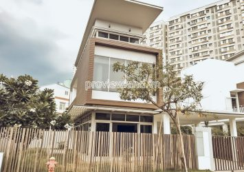 Riviera Cove villa for sale in District 9 with 3 floors land area 436m2 garden type