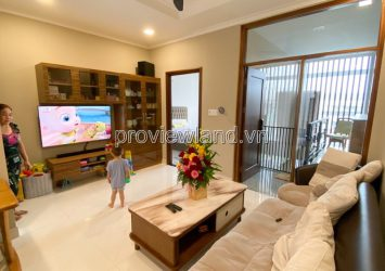 House for rent in Thao Dien street, street frontage No. 9, 3 floors, fully furnished