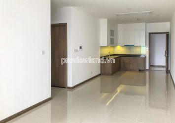 Opal Saigon Pearl apartment for rent includes 2 bedrooms on middle floor with area 90m2