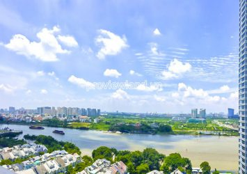Apartment for sale at Opal Saigon Pearl on high floor with 4 bedrooms river view