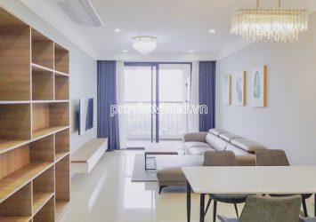 Opal Saigon Pearl 3 bedrooms apartment for rent corner apartment with river view