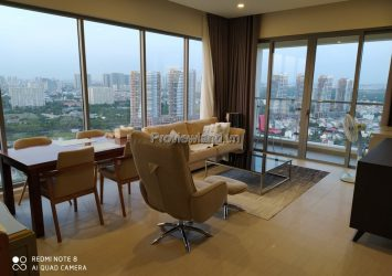 Diamond Island apartment for rent high floor 3 bedrooms fully furnished