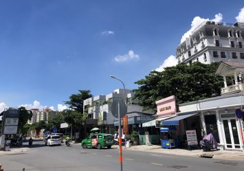 Selling land lot 2 frontage Thao Dien, District 2, area for 1112m2