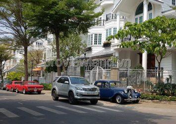 Saigon Pearl villa for sale, corner 2 fronts, 11x21m, 1 basement + 3 floors