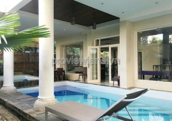 Thao Dien Villa at Compound Nguyen Van Huong for sale land area of 305m2