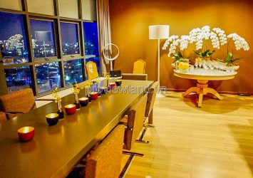 City Garden apartment for sale in Binh Thanh District Boulevar 2 building with some furniture