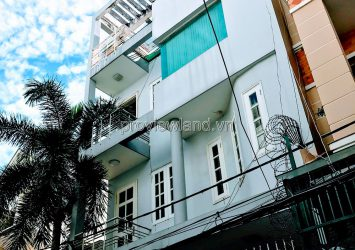 House for sale on Nguyen Dinh Chieu street District 1 128m2 4 floors