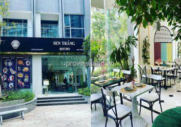 Shophouse Vinhomes Central Park Binh Thanh large area for sale