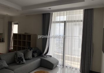 Vinhomes Central Park 4 bedrooms high floor has furniture for rent