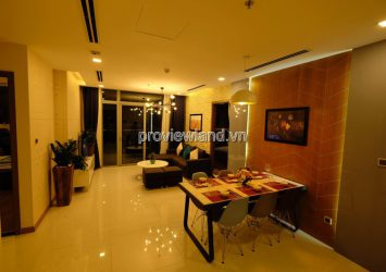 Vinhomes Central Park 3 bedrooms apartment for sale with furniture