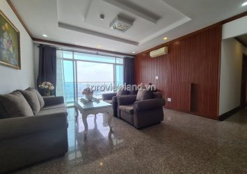 Hoang Anh Riverview offers interior decoration on 4 bedrooms high floor for rent