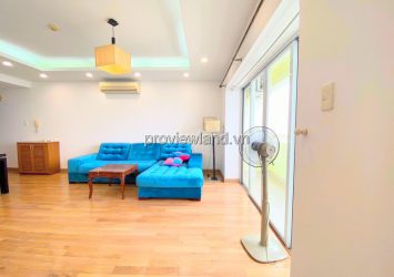 Hung Vuong Plaza apartment 3 bedrooms fully furnished for rent