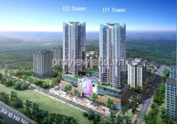 Catavil Premier sells a grafted apartment in Block D2, has a garden, area of 455sqm