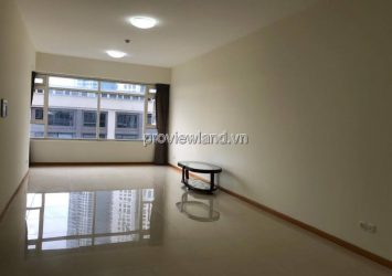 Saigon Pearl apartment for rent on low floor 1 with 3 bedrooms empty house