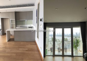 Diamond Island apartment for rent 2 bedrooms with nice view furniture