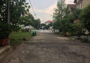 Selling the land of Compound Nguyen Van Huong Thao Dien area 10x30m