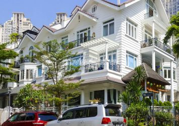 Riverside Villa Saigon Pearl need for sale area of 282m2 with 3-storey 1 basement