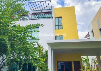 Riviera Villa for rent in District 2 with an area of 290m2 including 3 floors