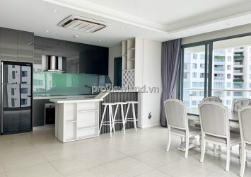 Apartment for rent in Diamond Island 3 bedrooms only has some furniture
